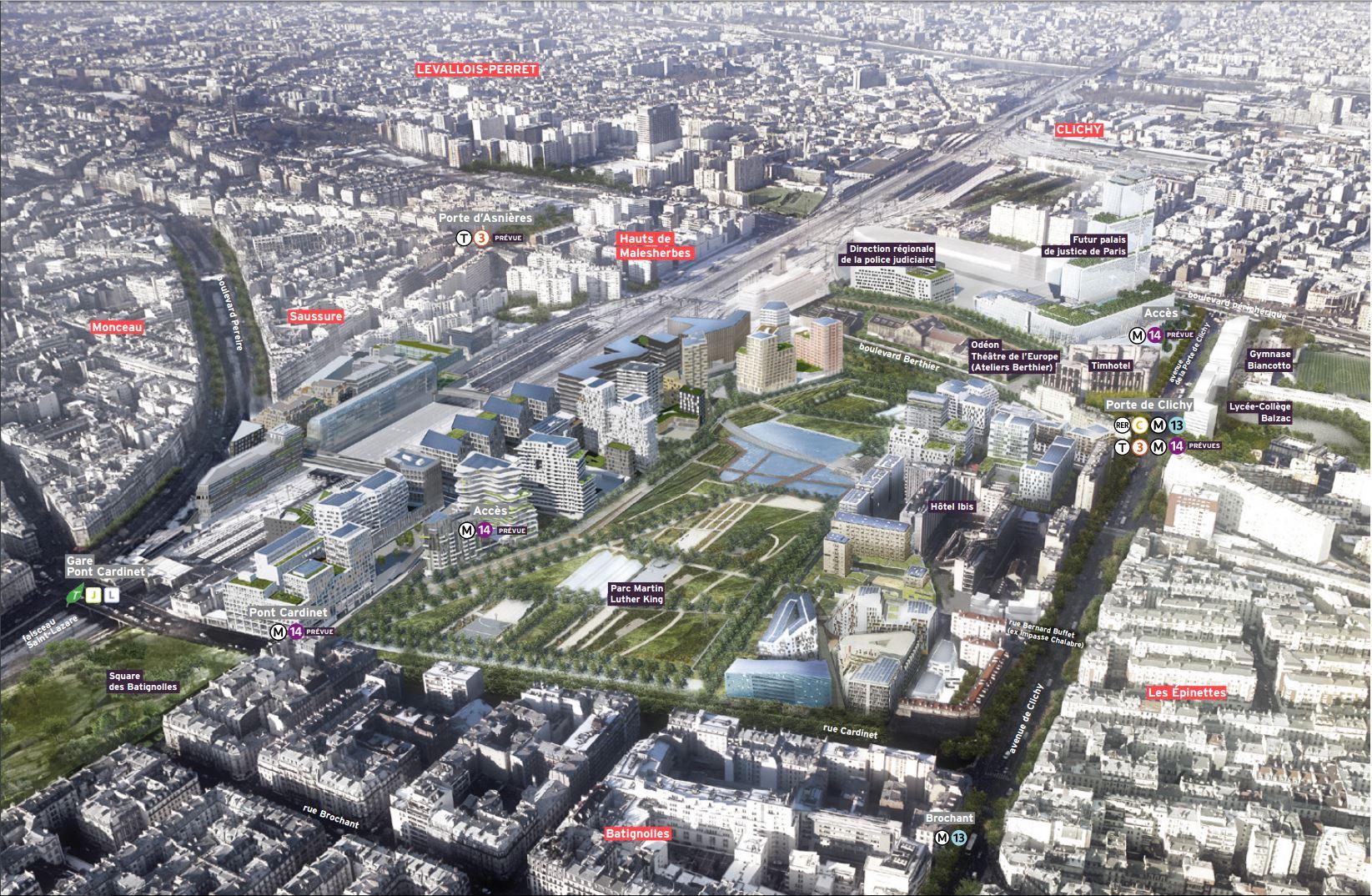 Didier Favre Paris France park Batignolles