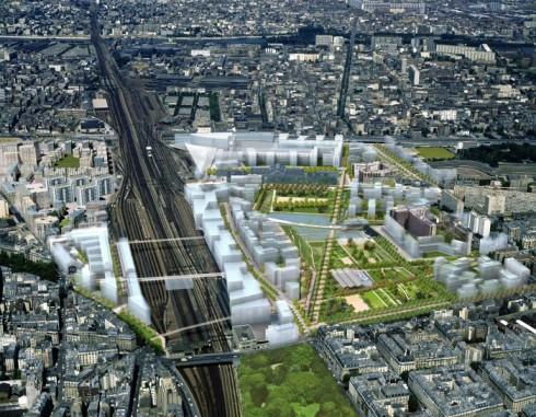乐parc的clichy自负恩2014年,巴黎17个电磁辐射