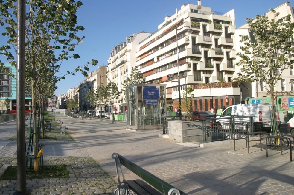 Parking rue cardinet