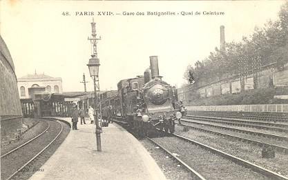 Locomotives aux Batignolles