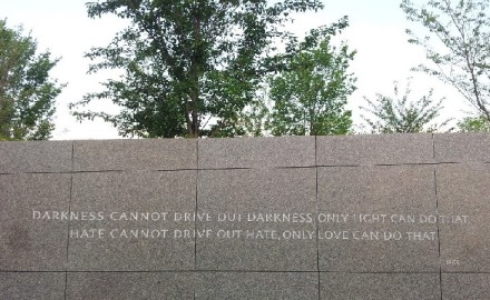 Monument à Martin-Luther-King   Washington-DC